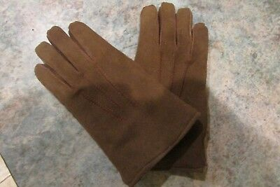 vintage childrens antelope gloves/excellent condition,very posh!