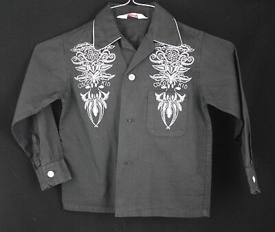 CISCO KID OFFICIAL Vintage 1950's Child's Western Button Down Shirt Kaynee 6