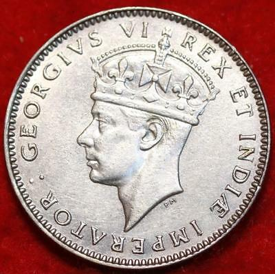 1937 East Africa 50 Cents Foreign Coin Free S/H