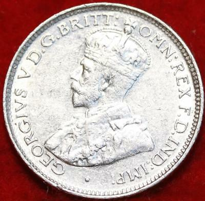 Uncirculated 1926 Australia 6 Pence Silver Foreign Coin Free S/H
