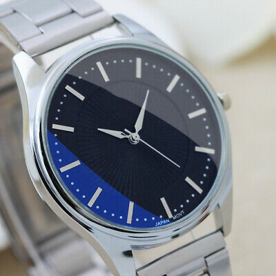 Casual Mens Watches Luxury Stainless Stell Analog Quartz Date Sport WristWatches