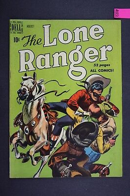 The LONE RANGER #26 Vintage Western Dell Comic Book 1950 A122