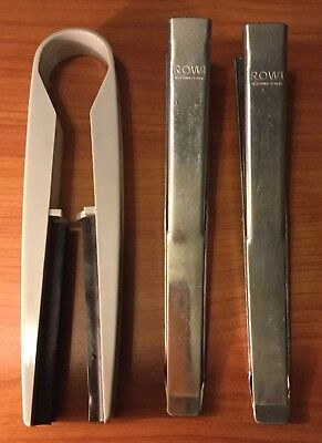Set Of Three Photography Darkroom Developing Tongs / Clips