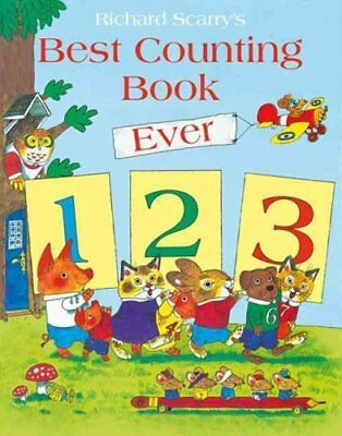 Best Counting Book Ever by Richard Scarry 9780007531141 (Paperback, 2014)