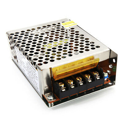 24V DC 2A 48W Switching Power Supply Silver