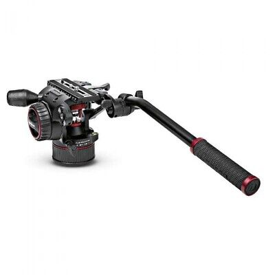 Manfrotto Nitrotech N8 Video Fluid Head - 8kg Continuous Counterbalanc