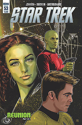 STAR TREK ONGOING SERIES #53, New, First printing, IDW (2016)