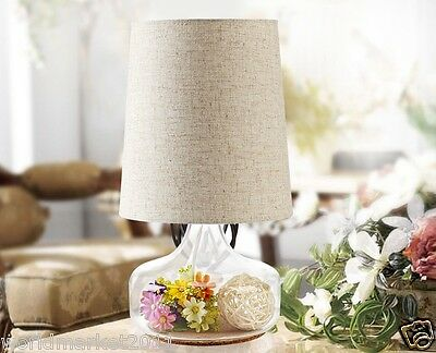 New European Style 1*Light Contracted Fashion Home Decoration Glass Table Lamp