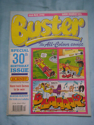 Buster Comic 30th Birthday Issue - 26th May 1990 - Puzzles not done