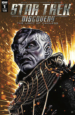 STAR TREK DISCOVERY #1, COVER A, New, First print, IDW (2017)