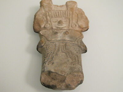 Authentic Antique Female Figure Aztec Maya Pre-Columbian/Figures Terracotta
