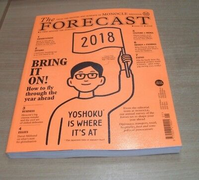 Monocle magazine presents The Forecast#7 2018 A View Beyond the Horizon
