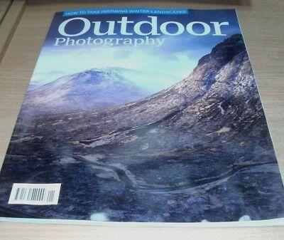 Outdoor Photography magazine JAN 2018 Winter Landscapes, Scale Ambiguity & more