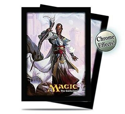 MTG Magic the Gathering Sleeves - Commander 2014 - Teferi v4 (120 sleeves)