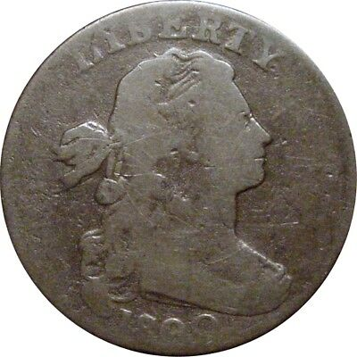 1800/79 Draped Bust Cent--Very Good