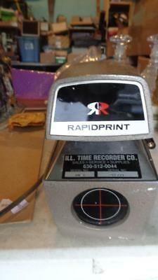 RapidPrint AR-E Date Time Document Recorder Stamp Working NO Key
