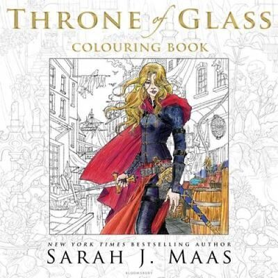 The Throne of Glass Colouring Book by Sarah J. Maas 9781408881422