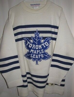 TORONTO MAPLE LEAFS Ebbets Field Flannels #7 THROWBACK JERSEY Medium