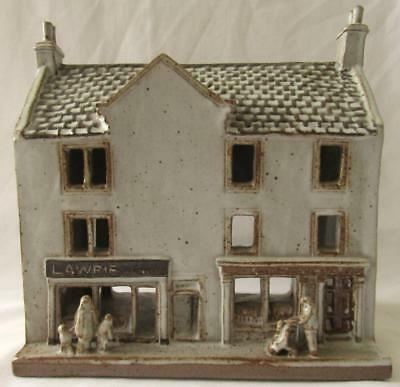 Rare Kelso Studio Pottery House Shops Signed By Elizabeth Hird 1987