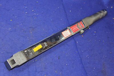 "Snap-On TQF 250, 50-250 ft-lbs, 1/2"" Drive Click Type Torque Wrench."