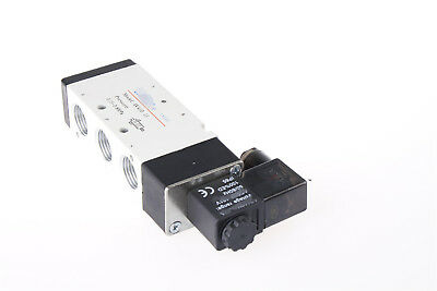 """G1/2"""" DC 12V 5 Way Normally Closed Electric Solenoid Air Valve 4V410-15"""