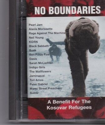 No Boundaries-A Benefit For The Kosovar Refugees  minidisc album