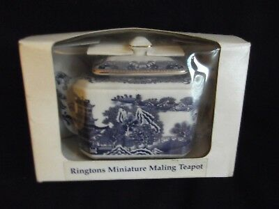 Ringtons Miniature Maling Teapot by Wade (Boxed)