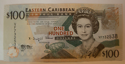 East Caribbean States ND 2008 $100 Note