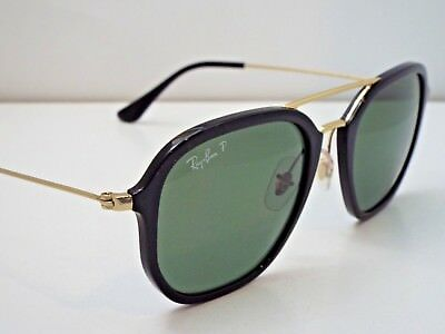 2a42ed0a0 Authentic Ray-Ban RB 4273 601/9A Black Green Classic Polarized Sunglasses  $245