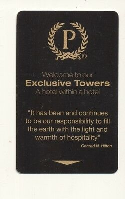 HILTON {P} EXCLUSIVE TOWERS----Room key--K-29