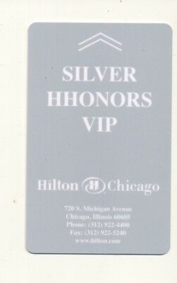 HILTON  CHICAGO-Silver HHonners VIP--Chicago,IL----Room key--K-30
