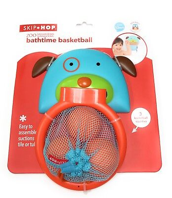 New Skip Hop Zoo Bath time Basketball Hoop - Dog 12M+