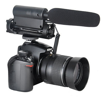 SGC-598 Photography Interview Shotgun MIC Microphone for Nikon Canon DSLR Camera