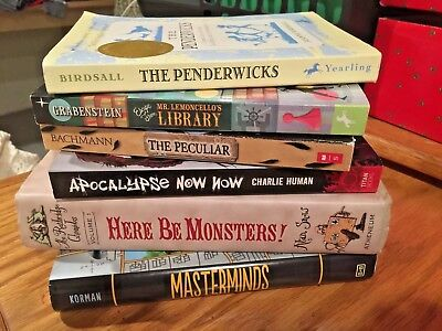 6 Books for Young Adults The Penderwicks,The Peculiar, Apocalypse Now Now...more