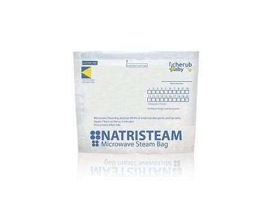 Natristeam Microwave Steam Steriliser Bags 6 pack