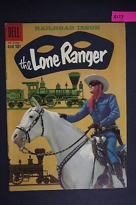 The LONE RANGER #126 Vintage Dell Western Comic Book 1959 A173