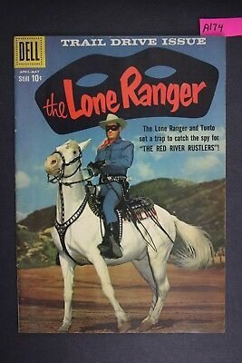 The LONE RANGER #127 Vintage Dell Western Comic Book 1959 A174