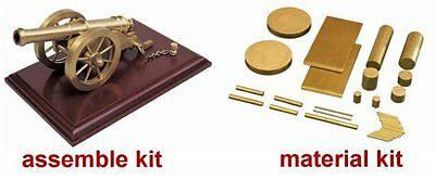 A6-3 Brass Cannon Material Kit (Model Maker Kit)