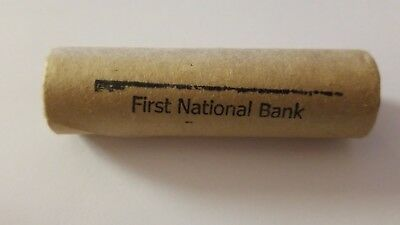 Unsearched Nickel Roll- 1937 Buffalo Nickel & Buffalo End - First Bank of Denver