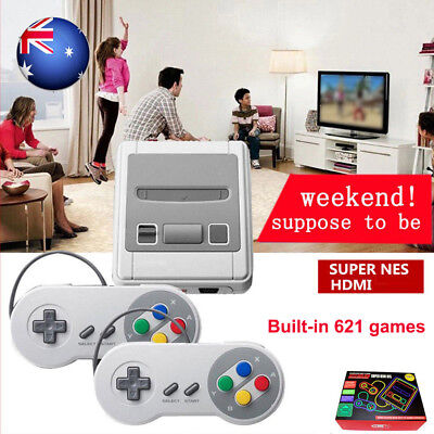 Vintage Retro HDMI TV Game Console Classic 621 Built-in Games with 2 Controllers