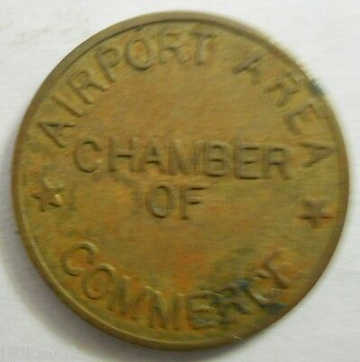 Coraopolis, Pennsylvania parking token - PA3245B