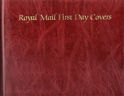 Royal Mail Fdc Album In Slip Case In Superb Condition One Careful Owner