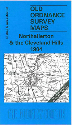 Old Ordnance Survey Map Northallerton Cleveland Hills 1904 Brompton Stokesley