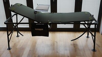 Brand New MOD Army Field Hospital - Medic - Adjustable Fold-up Camp Bed