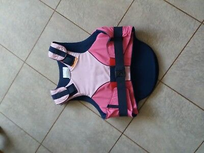 Airowear Child Girls Large Regular PINK Body Protector Horse Riding equestrian