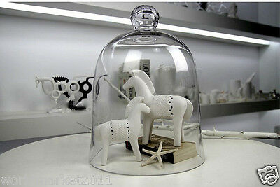 European Style New Classical Creative Glass Jar War Horse Crafts Decoration Gift