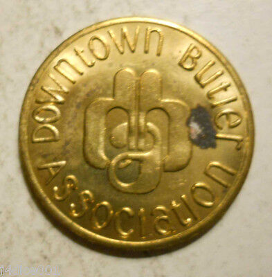 Downtown Butler Association (Pennsylvania parking token - PA3142G