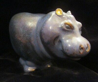 Horatio Hippo Sculpture, Brass?  By Davey,  Icarus Designs 1993