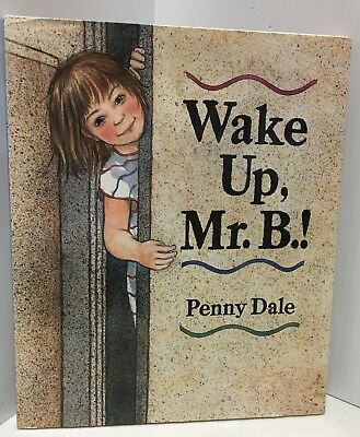 Wake Up Mr. B.!  A Very Picturesque Delightful Children's Book With An Airedale