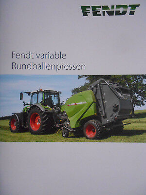 Fendt Variable Rundballenpressen Prospekt 09/17